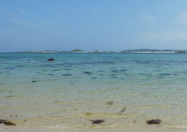 Eastern Isles from Pentle Bay, Tresco, Scilly